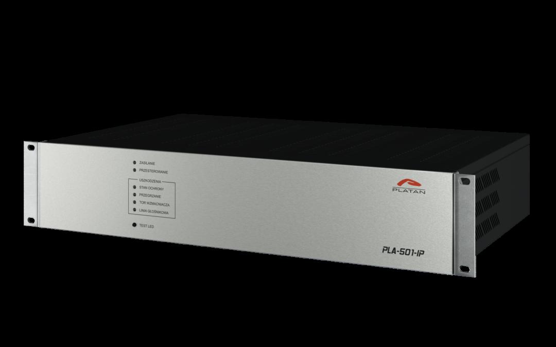 Wzmacniacze PLA z odbiornikami IP